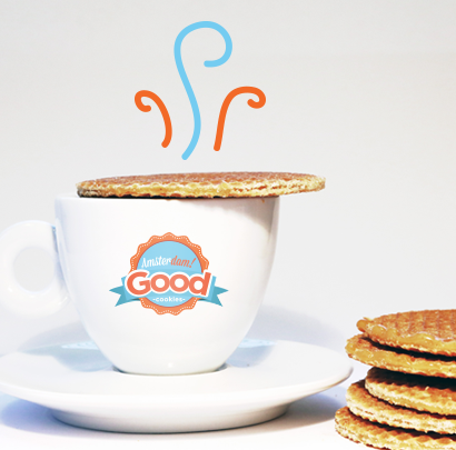Welcome to Amsterdam Good Cookies Stroopwafels, the number one Stroopwafel Brand in the World.