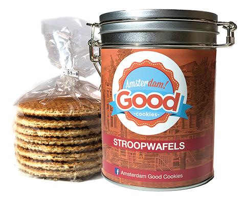Amsterdam! Good Cookies Stroopwafels