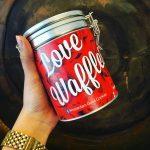 Moederdag Cadeau Love blikken Stroopwafel