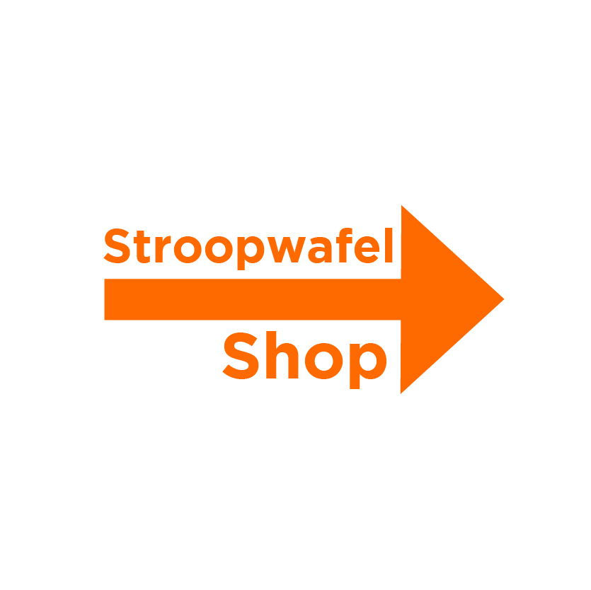 Stroopwafel Shop Amsterdam! Good Cookies knop ENG